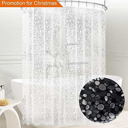 Carttiya Shower Curtain Liner Mildew Resistant Eva Bath Curtain