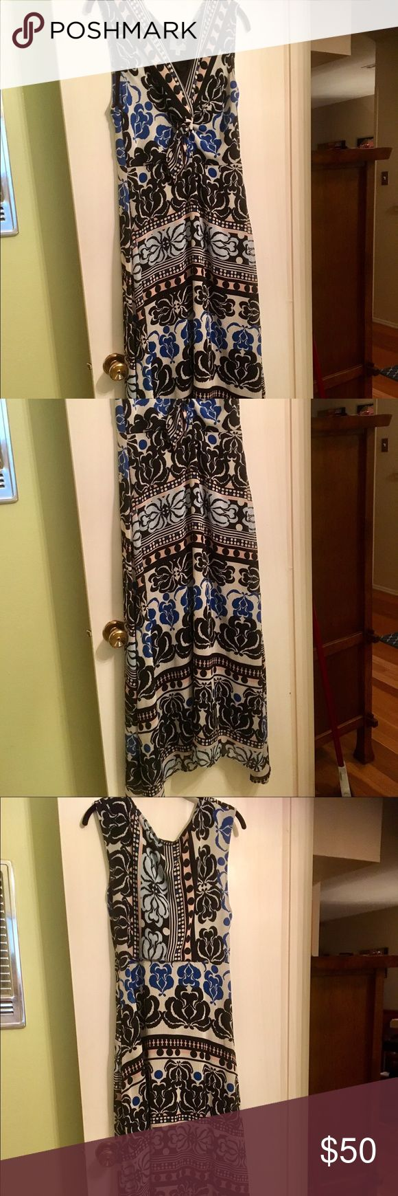 Coconinno by Eva Franco- Blue and Black Dress Coconinno by Eva Franco- Blue and Black Dress- excellent condition- worn once Eva Franco Dresses