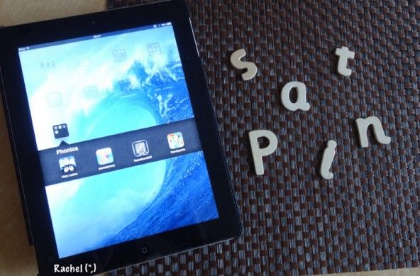 """Using the iPad to support phonics work - from Rachel ("""",)"""