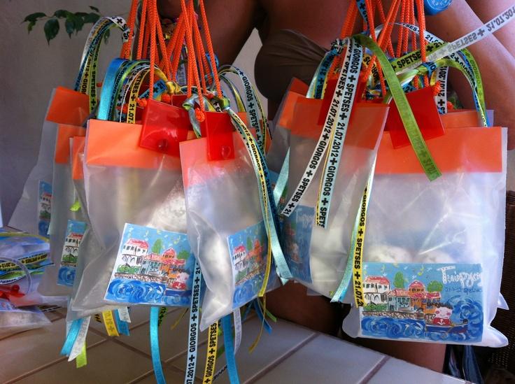 amygdalwta sweets as welcome gifts