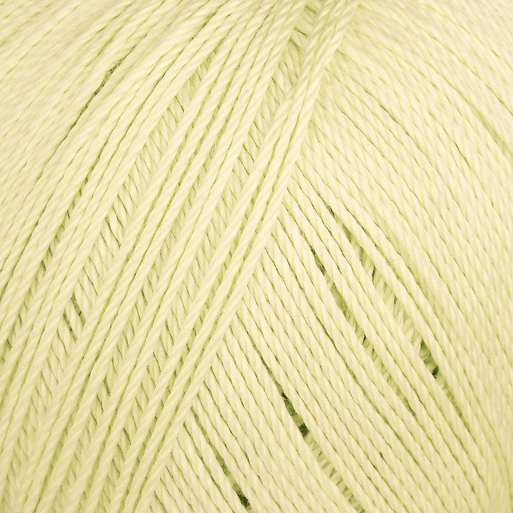 This fingering weight yarn is 100% mercerised cotton and 100% machine washable. It's made with long staple cotton for a sturdy and reliable thread. Available in a wide variety of shades, this thread crochets up on a 2.50mm hook to create a super soft and airy texture.