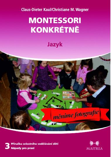 Montessori-konkretne-jazyk, pomůcková kniha