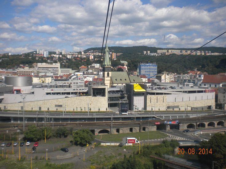 Cableway in Ústí nadLabem