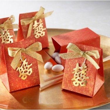 La boîte à dragées symbole asiatique - Décorations de mariage