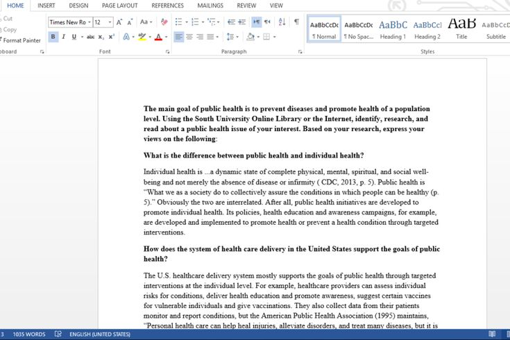 Download: http://writingsdepot.com/downloads/public-health/ The main goal of public health is to prevent diseases and promote health of a population level. Using the South University Online Library or the Internet, identify, research, and read about a public health issue of your interest. Based on your research, express your views on the following: What is the difference between public health and individual health? How does the system of health care delivery in the United States support the…
