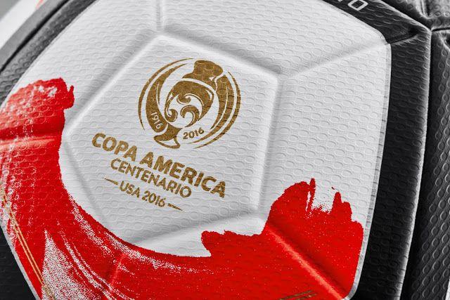 Copa America Centenario USA 2016 Nike Ordem Ciento #Copa100 http://www.soccergearhq.com/copa-america-ball-2016/
