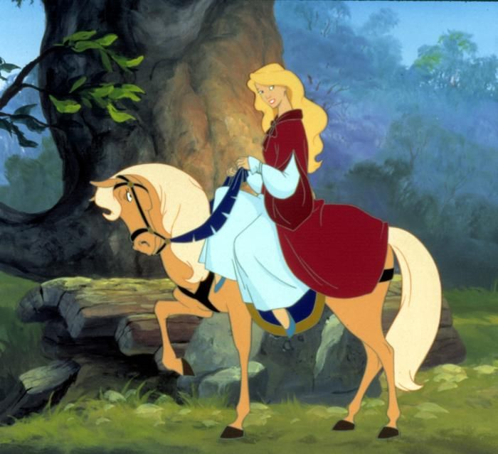 The Swan Princess -oh the cheesyness, i dont know why i liked it so much when i was little