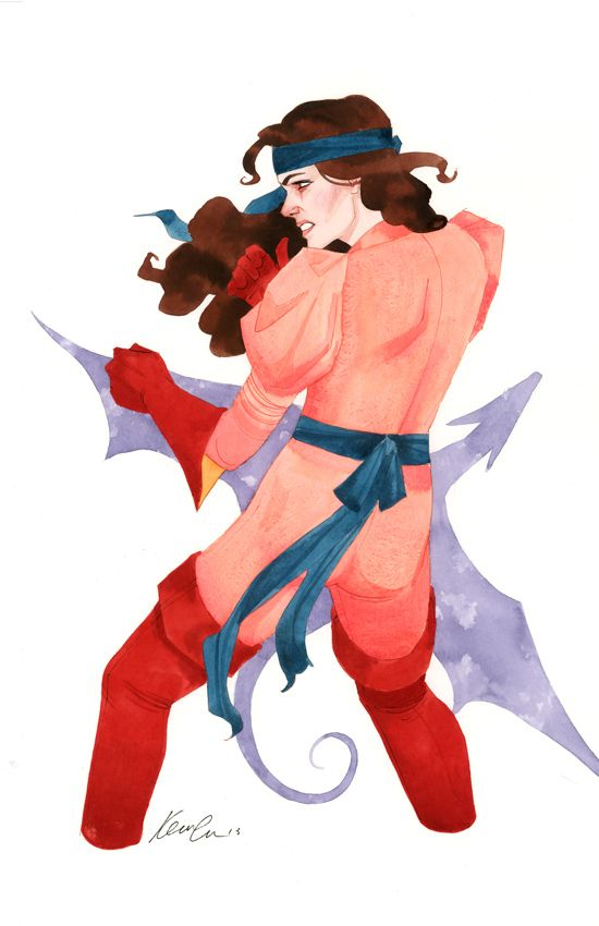 Kevin Wada Kitty Pryde series 2, costume 2