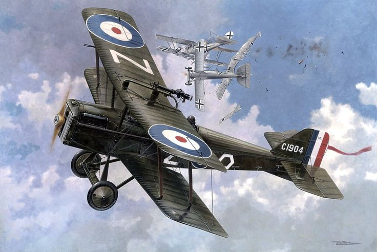 RAF 85 Sqn SE5a Wolseley Viper Billy Bishop -