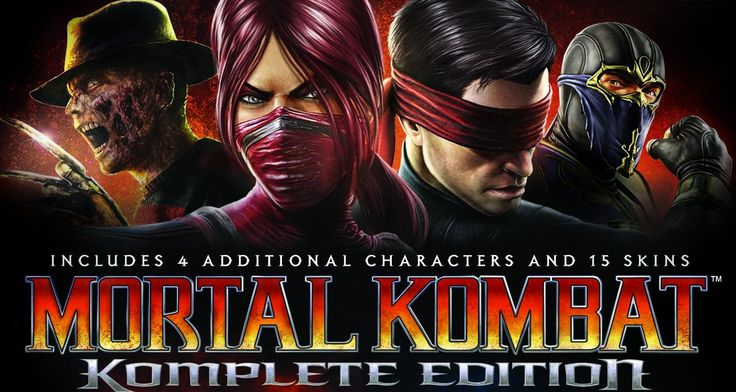 Remix of Mortal Kombat Komplete Edition