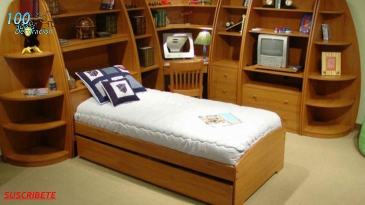 Las 25 mejores ideas sobre camas para ahorrar espacio en for Ideas camas
