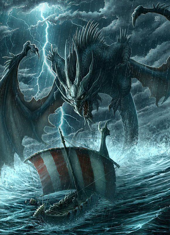 тату эскизы драконы