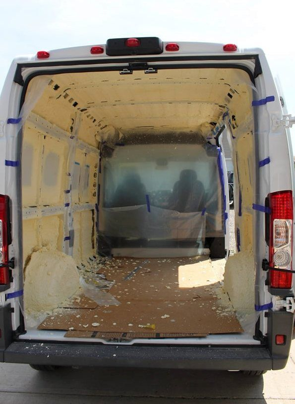 Our ProMaster Camper Van Conversion Installing Insulation