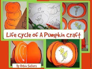 Pumpkin Craft: Life Cycle of Pumpkin Craftivity from Sweet Tea Classroom on