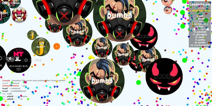 http://agarioplay.com agario, agario play 38006 agarioplay.com best agar.io server game score pumba user - Player: pumba / Score: 1380060 - pumba saved mass 138006 scores user pumba to us and we have prepared a universal high score table agarioplay.com