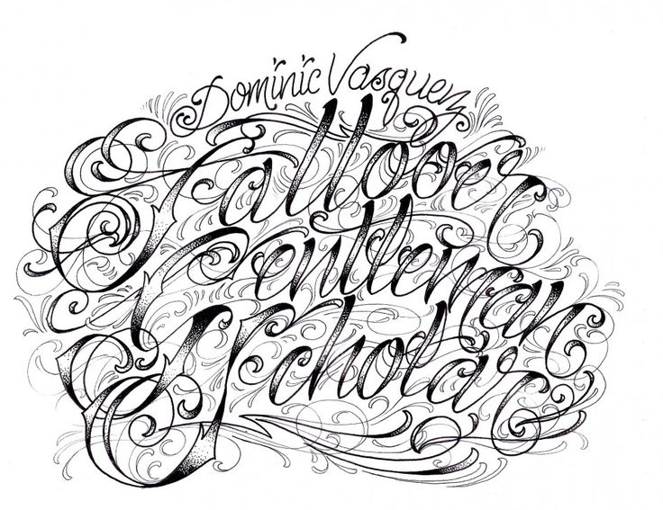 Image Of Fonts Fancy Script Dominic Vasquez Graffiti Alphabet Letters