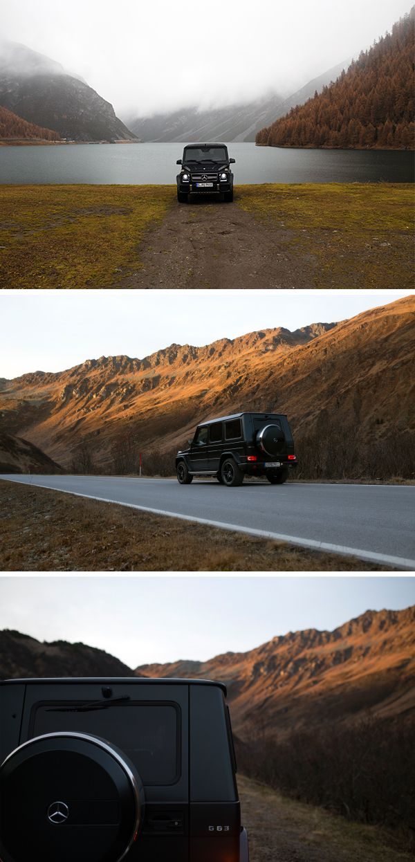 Getting lost in the beautiful nature with the Mercedes-AMG G 63. Photos by Peter Mosoni (www.mosoni.hu) for #MBsocialcar [Mercedes-AMG G 63 | combined fuel consumption: 13.8 l/100km | combined CO₂ emissions: 322 g/km | http://mb4.me/efficiency_statement]