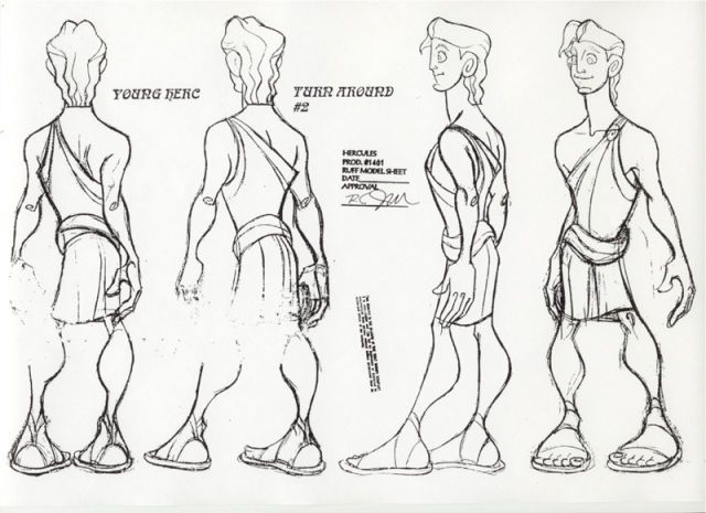 246 best turn around images on pinterest character design disney young hercules malvernweather Images