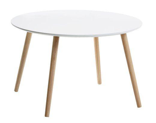 Sofabord FANNERUP Ø75 hvit | JYSK