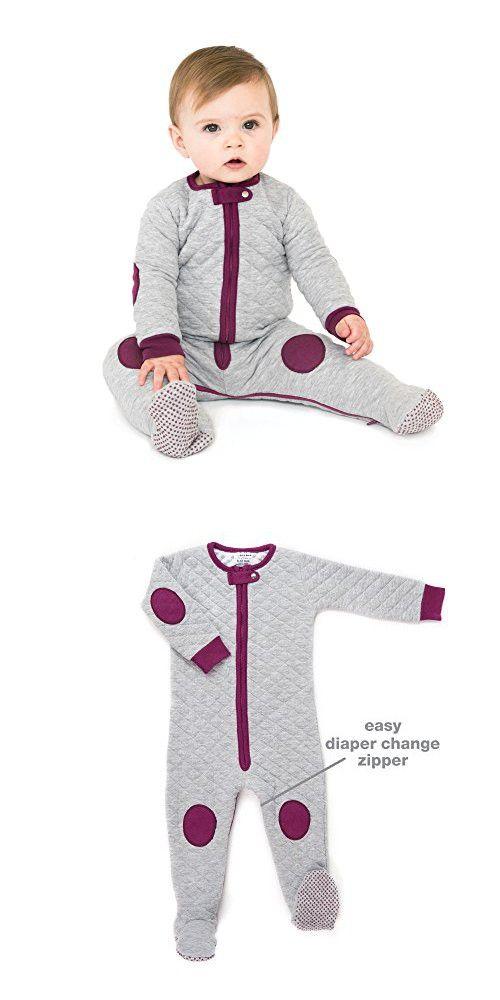 f5af6464763a Baby deedee Sleepsie Cotton Quilted Footie Pajama
