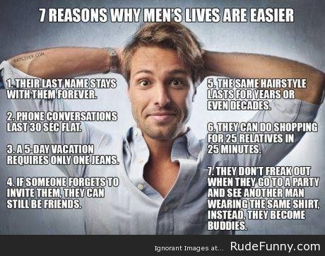 Men VS Women - http://www.rudefunny.com/memes/men-vs-women/