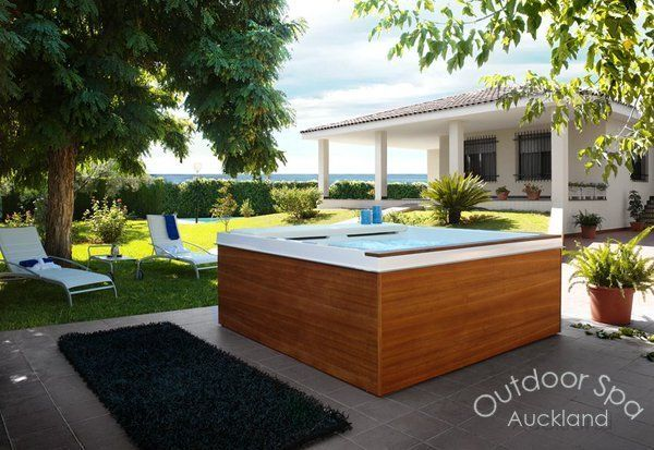 Outdoor Spa In Auckland. A #spa is the perfect #outdoor accessory for relaxation and the best way of taking some time out. At colonial hot tubs, We are provide design outdoor spa in #Auckland.