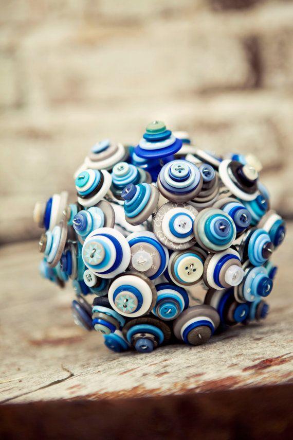 button bouquet (by angela's artistic designs)