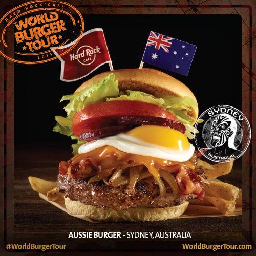 Aussie #Burger #Sydney #WorldBurgerTour