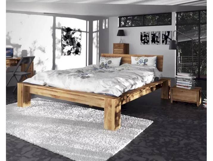 The Beds James Massivholz Bett Hoch 1601 180x200 Cm Buche