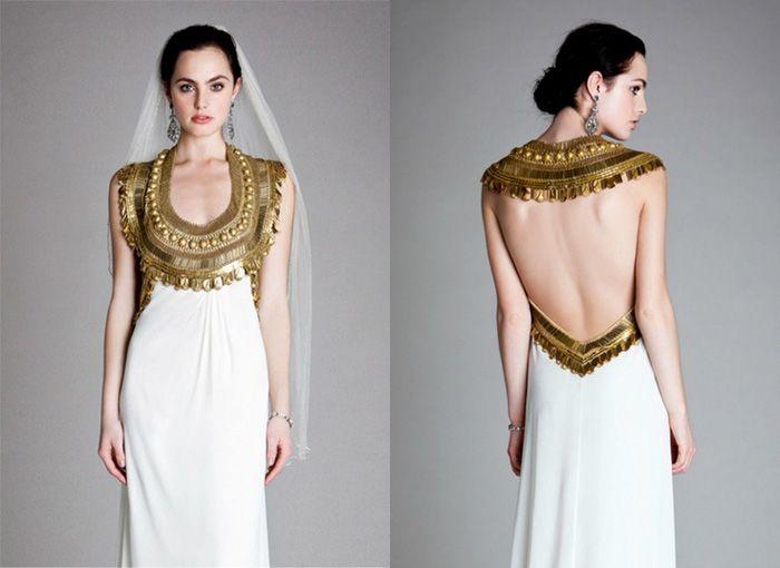 Bronze colors dresses style