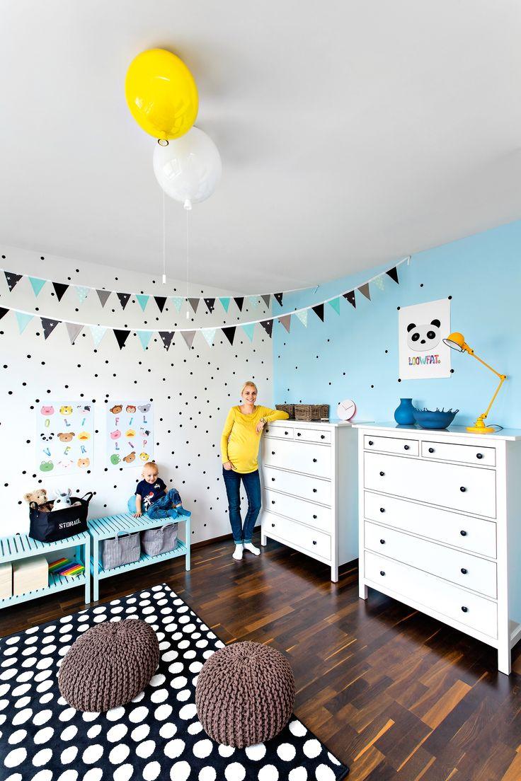 Transformations of the children´s room in collaboration with the magazine NOVÉ PROMĚNY BYDLENÍ. Interior design: Lenka Damová, photo: Pavel Bílek