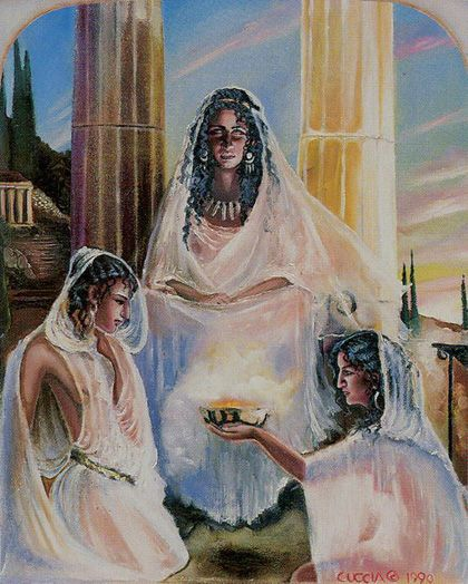 The Hierophant  - Ancestral Path Tarot