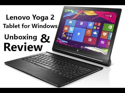 "Lisa Gade reviews the Lenovo Yoga Tablet 2 8"" Windows 8.1 tablet with AnyPen that allows you to use a pen, pencil or any other metal item to write, draw and ..."