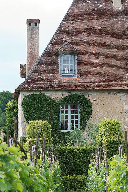 Prieure d'Orsan, Loire Valley, France. A Relais & Chateaux establishment.