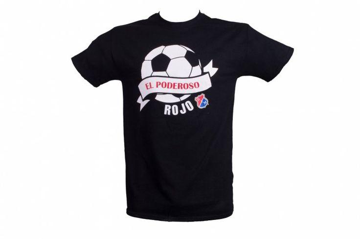 Camiseta negra estampada - El poderoso rojo $ 15,300 Precio hasta la puerta de tu casa!!