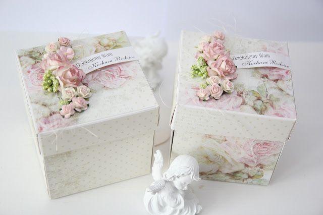 podziękowania dla rodziców, ślub, exploding box