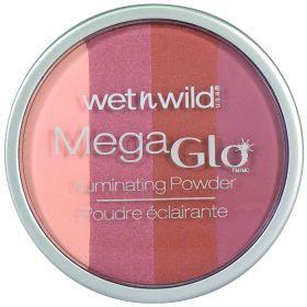Wet N Wild Mega Glo Powder (Πούδρα Λάμψης) No 347 Πούδρα λάμψης η οποία δίνει έναν απαλό ιριδισμό σε κάθε απόχρωση δέρματος. Αναμίξτε με το πινέλο σας τις τέσσερις διαφορετικές αποχρώσεις ή χρησιμοποιήστε μόνο την απόχρωση που σας αρέσει για να φωτίσετε το πρόσωπο, τον λαιμό, το ντεκολτέ ή και το σώμα. Τιμή €5.99