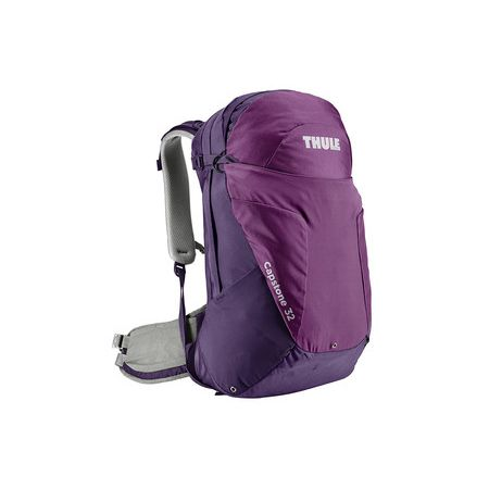 The Thule Capstone 32L uses a women's specific hip belt for better overall balance. Ideal for day hikes.
