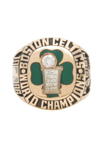 "Robert Parish Is Selling His 1986 Celtics NBA Championship Ring - ""Don't do it Chief!"" - Rich Salzer, Sirius Radio Sports"