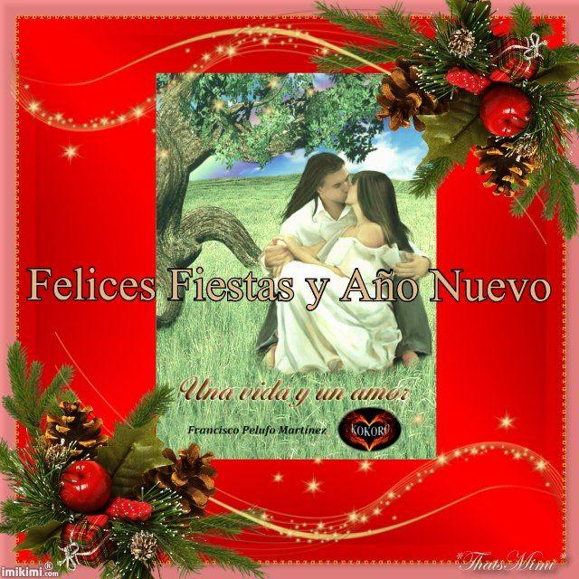 Reparte amor en Navidad con UNA VIDA Y UN AMOR en casa dedicado por el autor @KOKOROALMA @esveritate #poesía