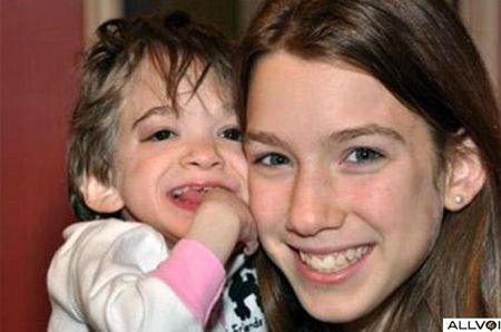 Brooke Greenberg, the toddler who never aged, dies at age 20  Brooke with her younger sister.  A few years ago ZME Science reported the peculiar case of Brooke Greenberg, a woman who was born prematurely at just four pounds but never physically developed into an adult.