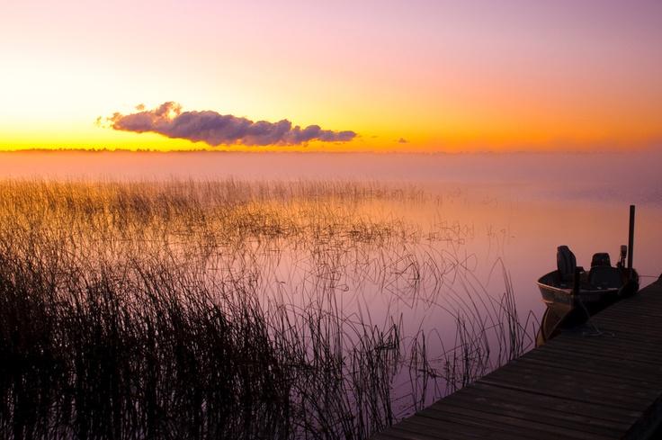 Moose Lake Morning by John Klassen, via 500px