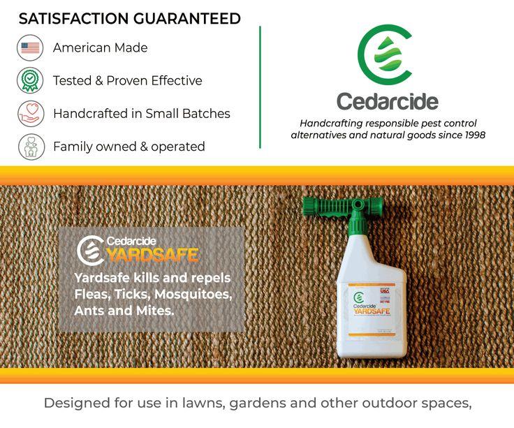 Yardsafe Insect control, Pet safe, Pests