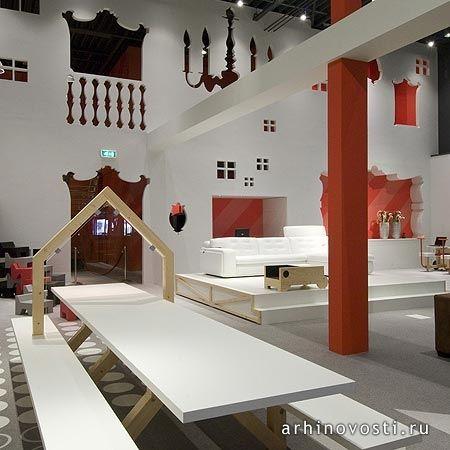 Студия Тьеп (Tjep) создала интерьер для мебельного магазина ВилаСофа (VilaSofa). Голландия