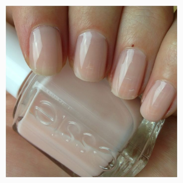 My new favorite barely-there polish: Essie's Sugar Daddy