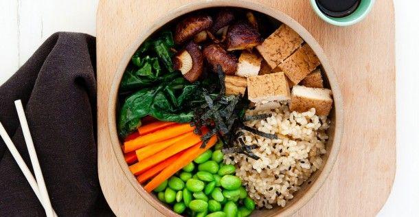 Lunch tip: Vegetarische sushi bowl | NSMBL.nl