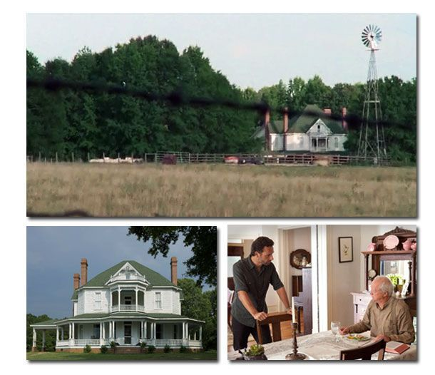 Hershel's farm from the Walking Dead TV Series. Everytime I see it on Screen