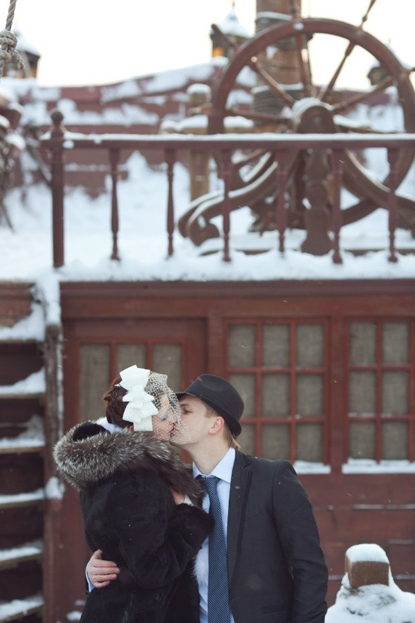 ретро свадьба в стиле Чикаго #wedding #retro #bride #groom