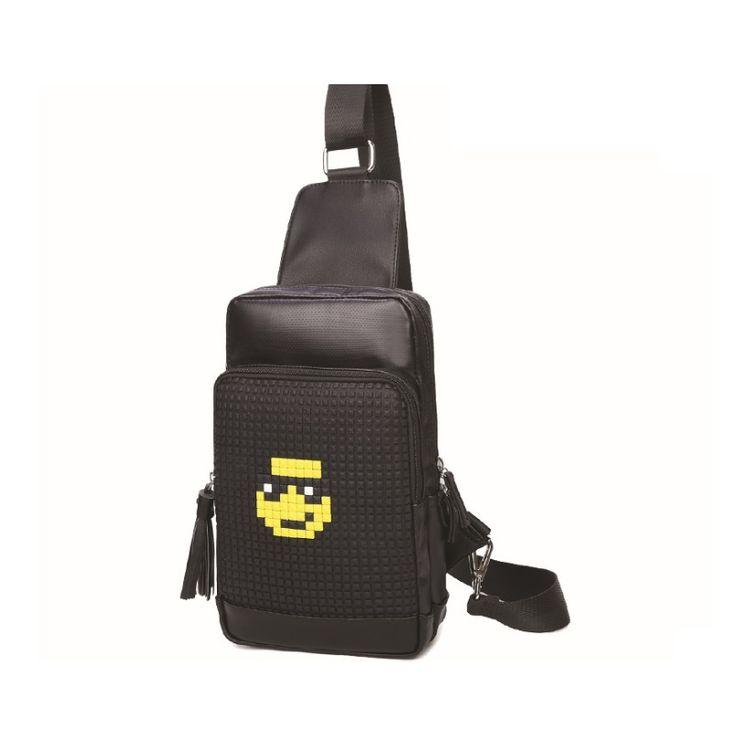 Block Assembly Unisex Crossbody Shoulder Messenger Bag Tablet Sleeve Unique Bag #AllYourFashion #MessengerCrossBody