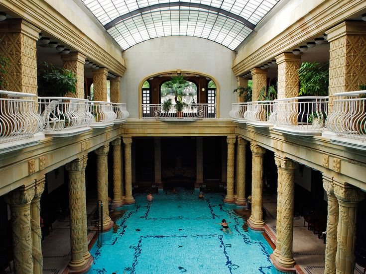 One of the greatest pleasures of Budapest is the city's spectacular thermal baths. These architectural gems surround a labyrinthine network of saunas, steam rooms, and naturally warm pools whose mineral-infused water springs straight from the ground. The city is awash with thermal spas, such as the world-famous Gellert (pictured), and the Turkish-built 16th century Király and Rudas Baths. —Natalie HolmesRead more: Why Winter is the Best Time to Visit Budapest